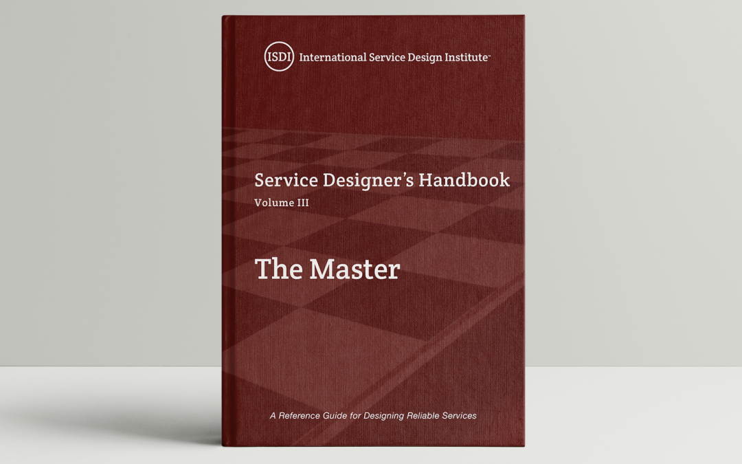 Newly Released Service Design Book – The Master