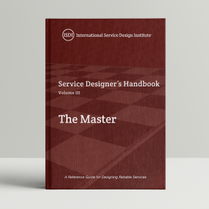 The cover of The Master, the third volume in the Service Designer series.
