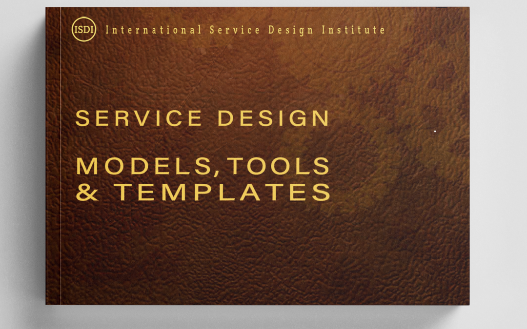 This is a cover of the book Service Design Models, Tools & Templates