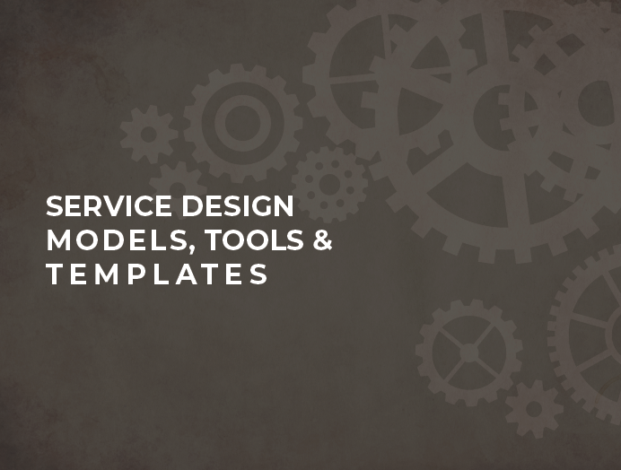 Newly Released Service Design Book – Service Design Models, Tools and Templates