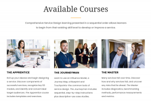 Service Design Courses at ISDI