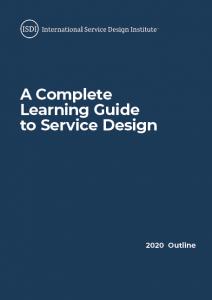International Service Design Institute Outline-Brochure Cover