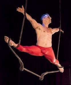 Circus performer on the ropes. Source: Pixabay.