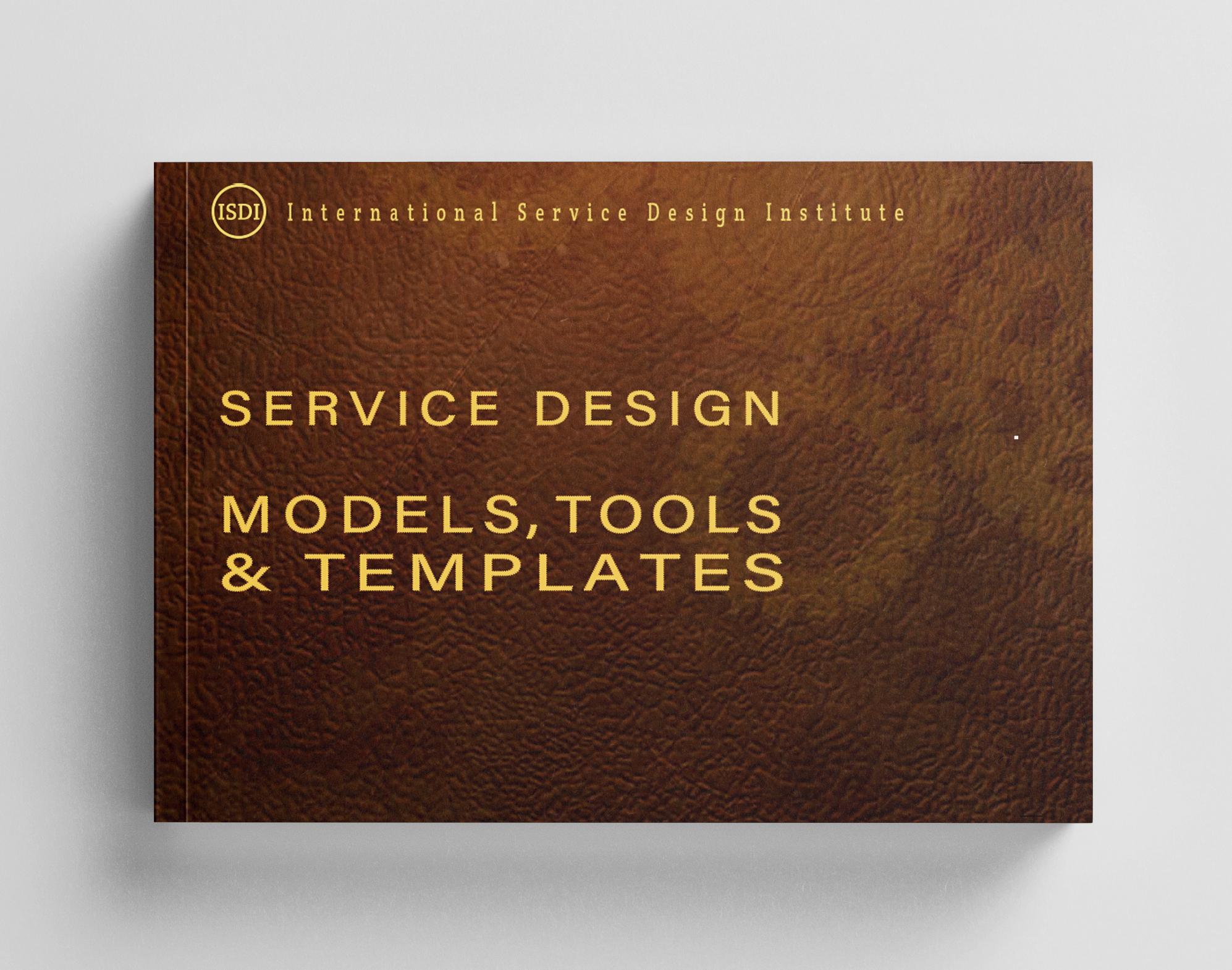 Book cover Service Design Models, Tools & Templates